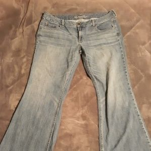 American Eagle Jean's wide bootcut size 18